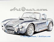 AC Cobra painting