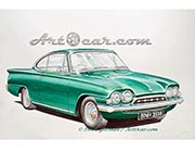 Ford Capri painting