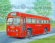 London Transport bus RF-489