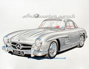 Mercedes Benz SL Gullwing