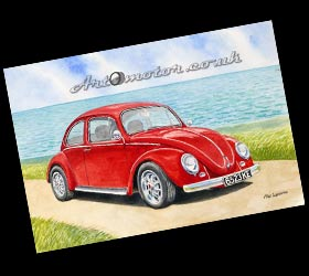 VW Beetle portrait